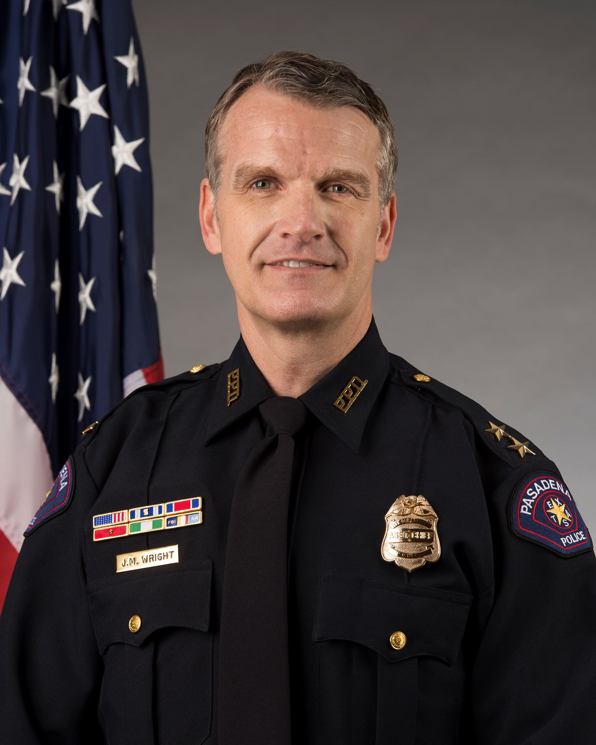 Jerry Wright, Assistant Chief